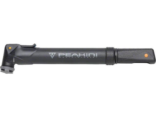 Topeak Peakini II Master Blaster Frame Pump: Black