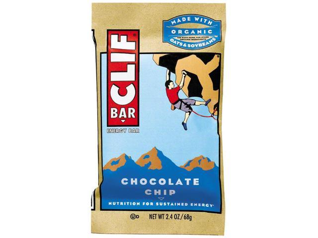 Chocolate Chip - Box - Clif Bar - 12 - Bar