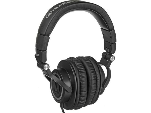 Audio-Technica ATH-M50S Professional Closed-Back Studio Headphones (Straight Ca