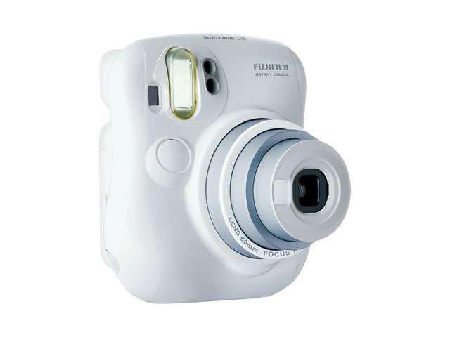 Fujifilm 15953812 Fujifilm fuji instax mini 25s camerawhite image size 2 13 x