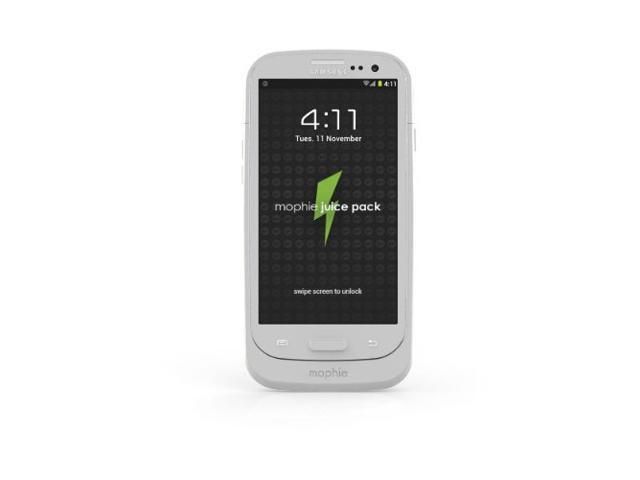 Mophie Juice Pack Battery Case for Samsung Galaxy S III - White
