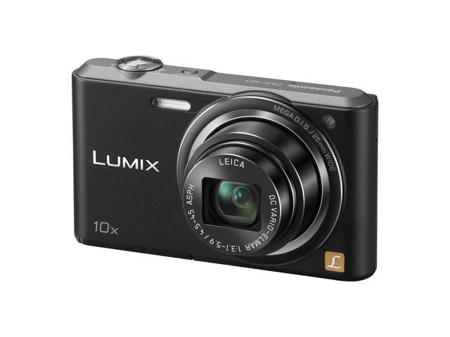 Panasonic Lumix DMC-SZ3 Digital Camera (Black)