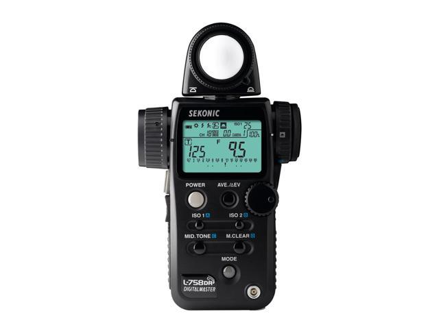 Sekonic L-758DR DigitalMaster Light Meter