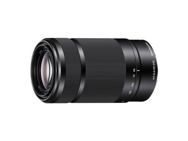 Sony E-mount 55-210mm f/4.5-6.3 OSS Lens (Black)