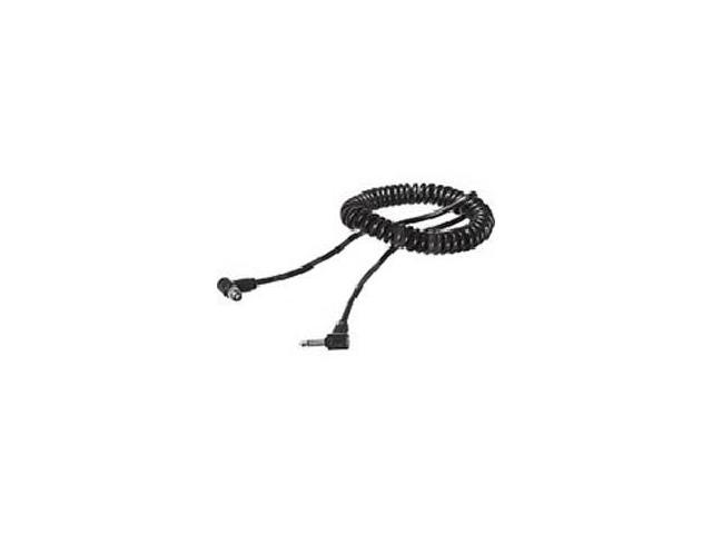 PocketWizard Nikon PC Screw-Lock to Miniphone Camera Synch Cable - Coiled - 21