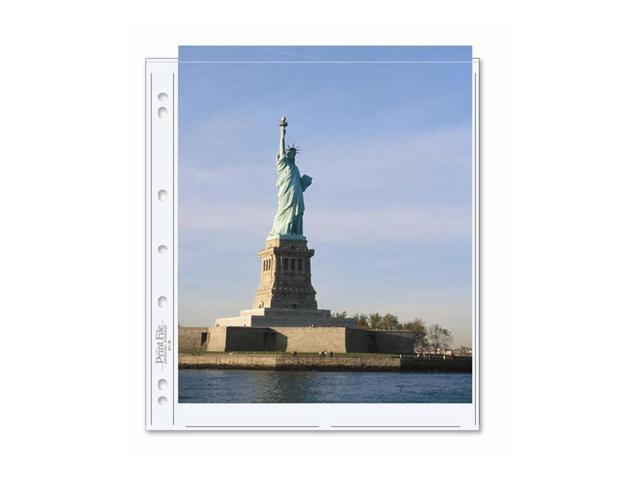 Print File Archival Photo Pages Holds Two 8.5 x 11