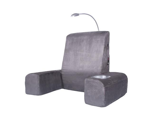 Carepeutic KH265A Bed Rest Lounger with Heated Therapy and Soothing Comfort Back Massager