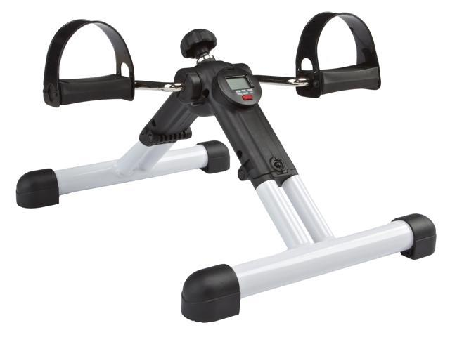 BetaFlex® Portable Dual Exercise Bike Fully Assembled and yet Foldable with Pedometer