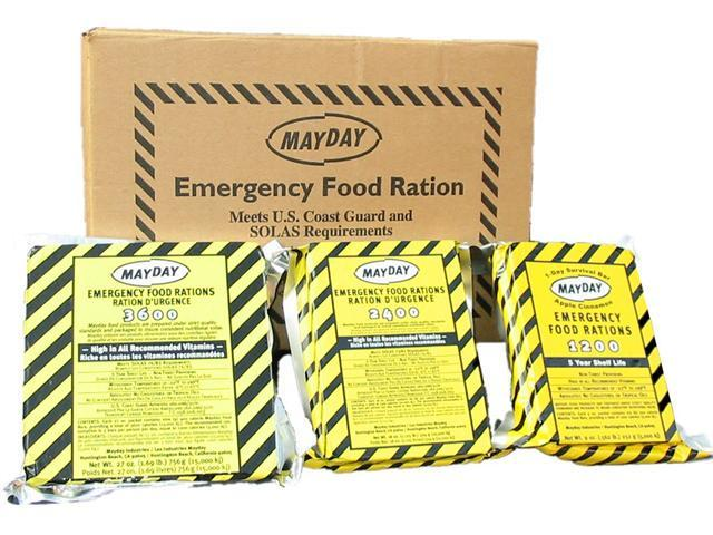 Mayday industries 3600 calorie food ration bar case of 20 for Mayday food bar 3600 calories