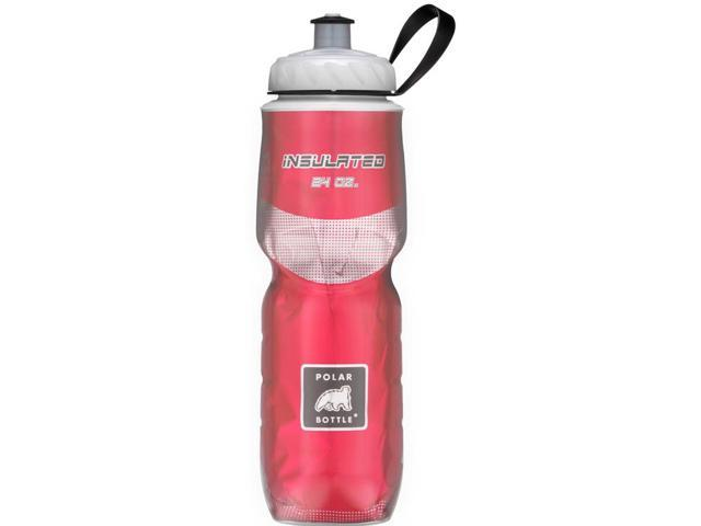 Polar Bottle Sport Insulated 24 oz Water Bottle - Red