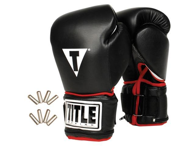 Title Boxing Power Weighted Super Bag Gloves-Regular