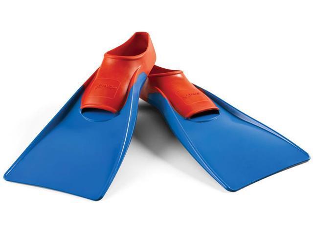 FINIS Long Floating Fins - Medium (5.5-7) - Red/Blue