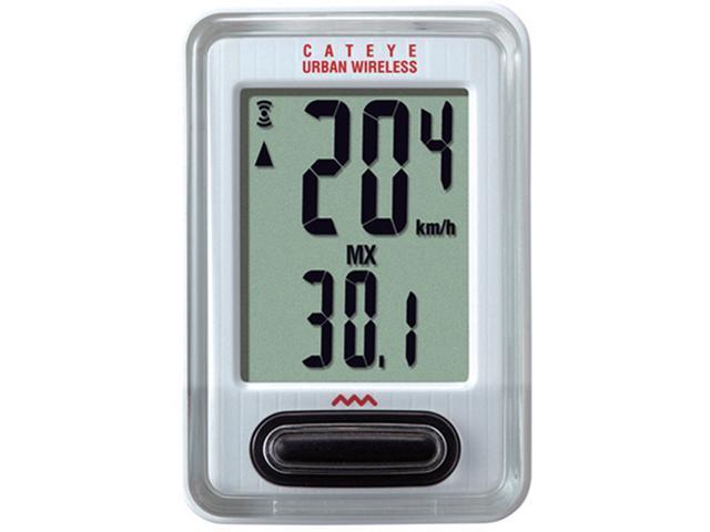CatEye Urban Wireless Cycling Computer - CC-VT220W White
