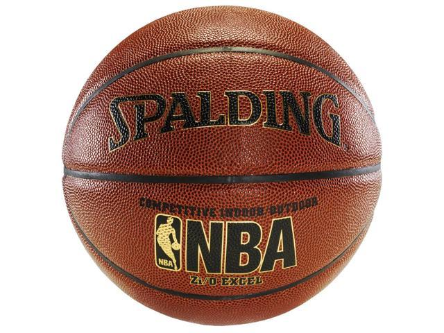 "Spalding NBA Zi/O EXCEL Indoor/Outdoor Composite Basketball - Size 6 (28.5"")"
