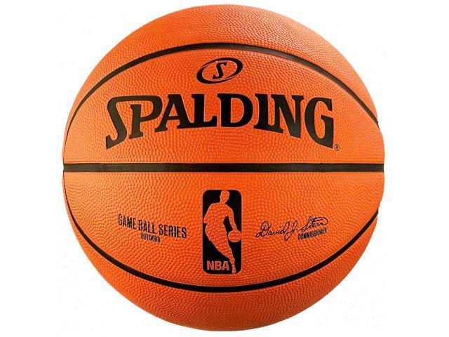 """Spalding NBA Rubber Replica Outdoor Basketball - 22"""""""