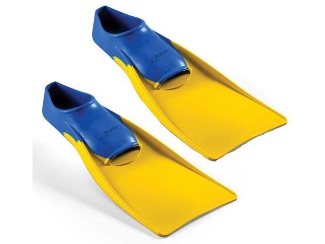 FINIS Long Floating Fins - XS (1-3) - Blue/Yellow