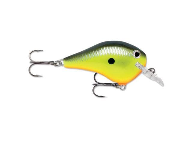 Rapala Dt03 Fat 2 5 Inch Fishing Lure Chartreuse Shad