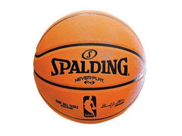 "Spalding NBA NeverFlat Composite Basketball - Size 6 (28.5"")"
