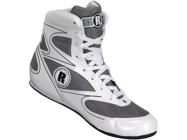 Ringside Lo-Top Diablo Boxing Shoes - Size 9 - White