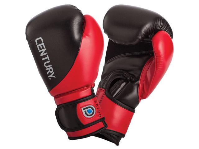 Century Drive Hook and Loop Training Boxing Gloves - 16 oz. - Red/Black