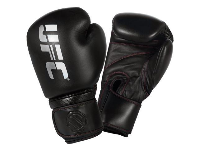 UFC Professional Hook and Loop Heavy Bag Gloves - 18 oz. - Black