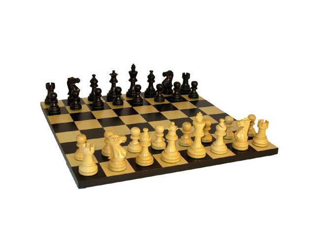 Worldwise imports black american emperor basic chess set - Simple chess set ...