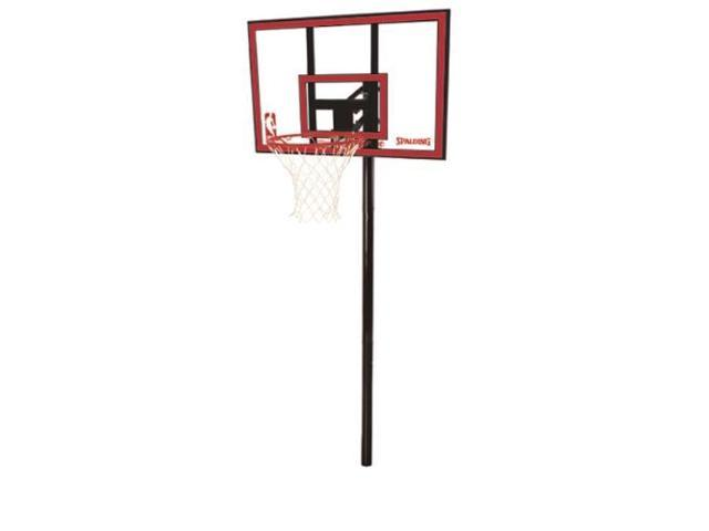 Spalding Polycarbonate In-Ground Basketball System - 44''