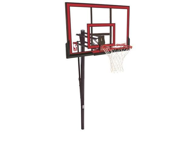 Spalding Polycarbonate In-Ground Basketball System - 48''