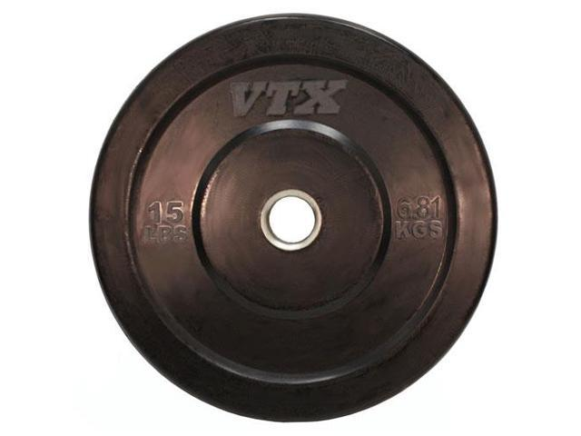 VTX by Troy Barbell 15 lb. Rubber Bumper Plate