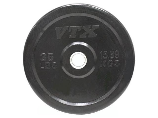 VTX by Troy Barbell 35 lb. Rubber Bumper Plate