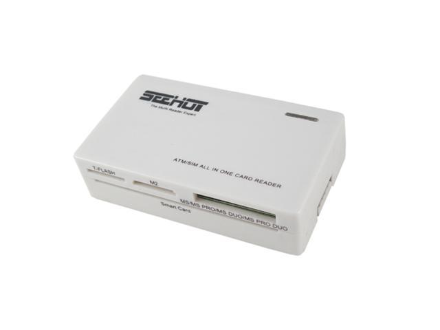 Seehot SH-C1606 All-in-one USB 2.0 Multi Card Reader + SIM + SMART Reader-White