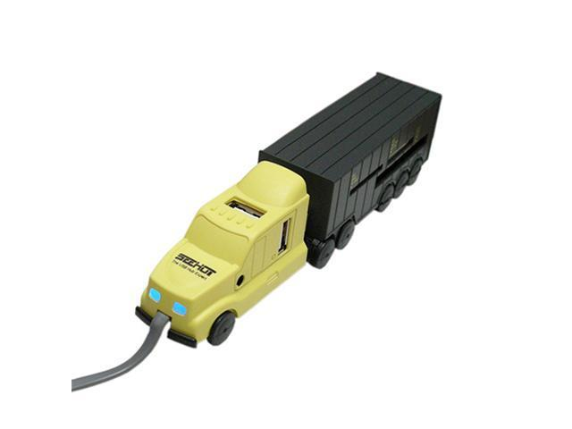 Seehot SH-C1608 Truck 4-Port USB Hub + 77-in-1 Card reader