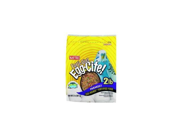 Kaytee Products Inc Fortidiet Eggcite, Parakeet, 3 Pound - 100032232