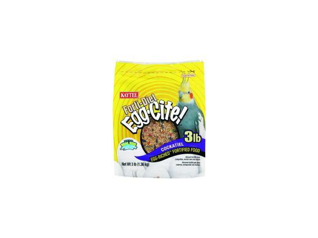 Kaytee Products Inc Fortidiet Eggcite, Cockatiel, 5 Pound - 100032242