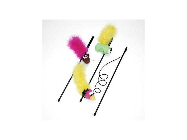 Ethical Pet Feather Boa With Wand & Catnip - 2520