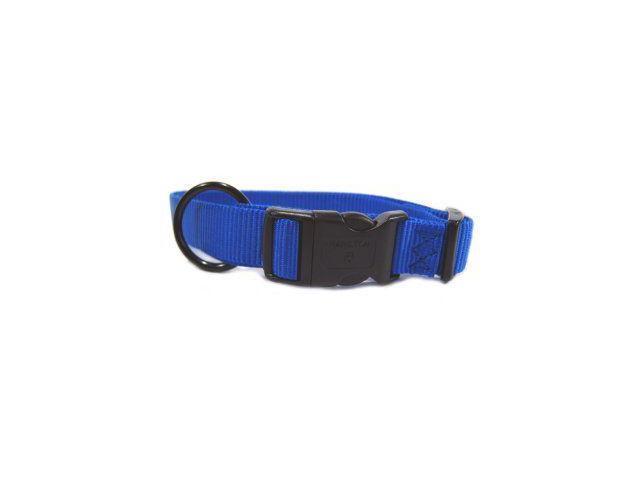 Hamilton Pet Company Adjustable Dog Collar, Blue, 1 X 18-26 - FAL 18/26 BL
