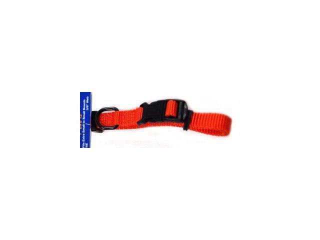 Hamilton Pet Company Adjustable Dog Collar, Mango, 5/8 X 12-18 - FAS 12/18 MA