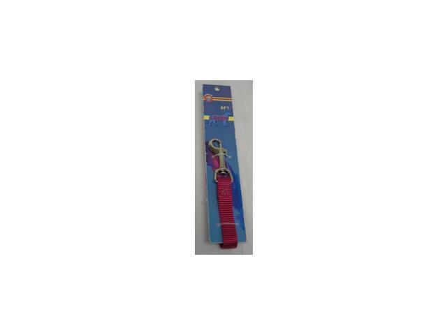Nylon Lead With Snap Carded 5 8Inchx6Foot