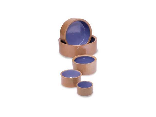 Stoneware Dog Dish 9.5 In