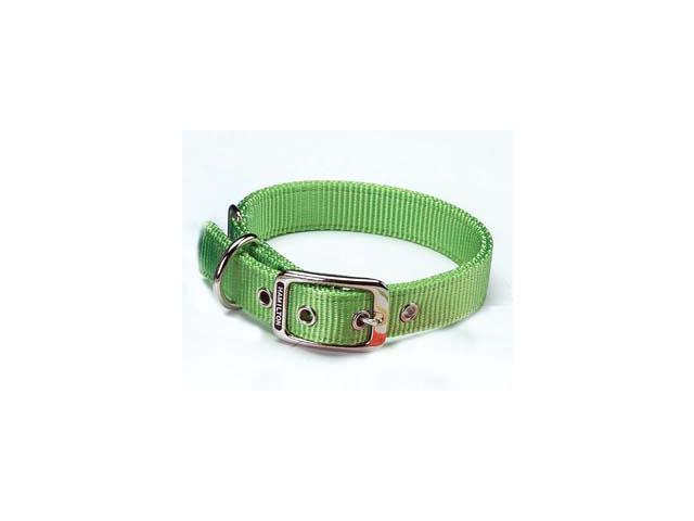 Hamilton Pet Company Double Thick Nylon Dog Collar, Lime, 1 X 26 - DD 26LI