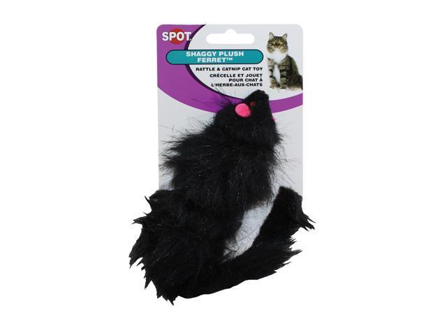 Ethical Pet Shaggy Plush Ferret Cat Toy - 2906