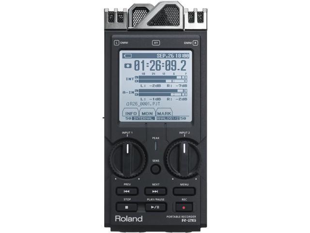 Roland R-26 6-channel Portable Field Recorder R26