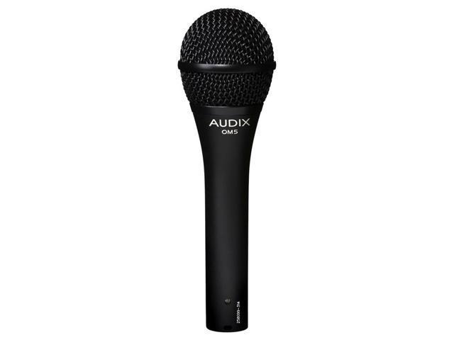 Audix OM5 Dynamic Hypercardioid Microphone Open Box