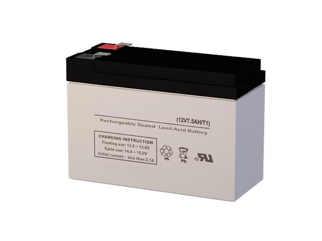 LCR12V6.5PAD 12 Volt 7 AmpH SLA Replacement Battery with F1 Terminal