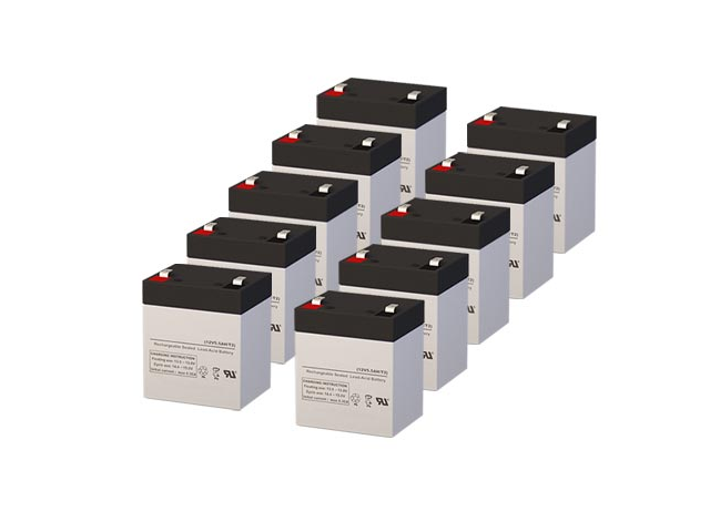 Compaq AF423A UPS Replacement Batteries - Pack of 10