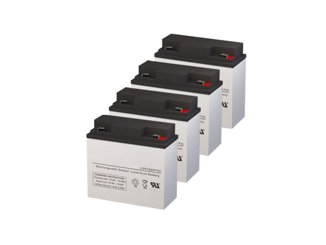 Compaq PRA2200A UPS Replacement Batteries - Pack of 4