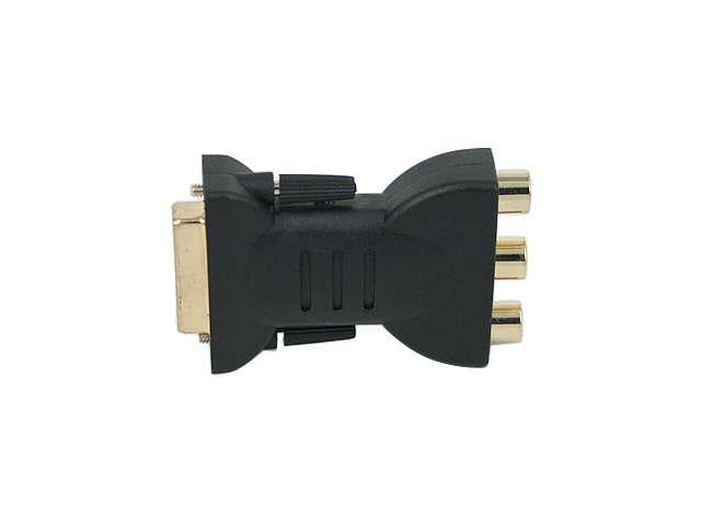 DVI-I to RCA Component (RGB) Adapter