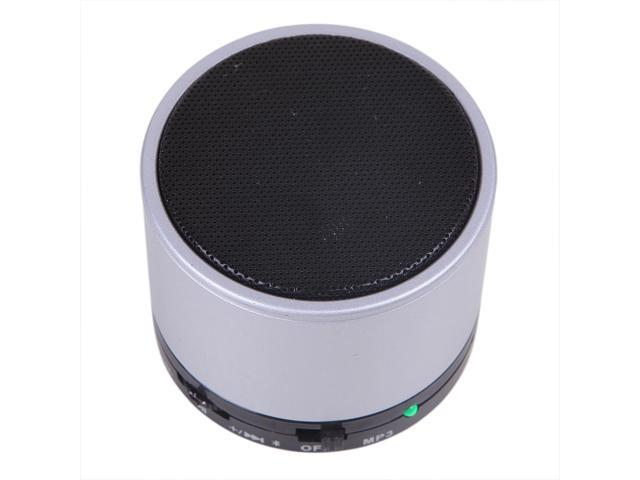 Portable Bluetooth Metal Mini Speaker - Silver
