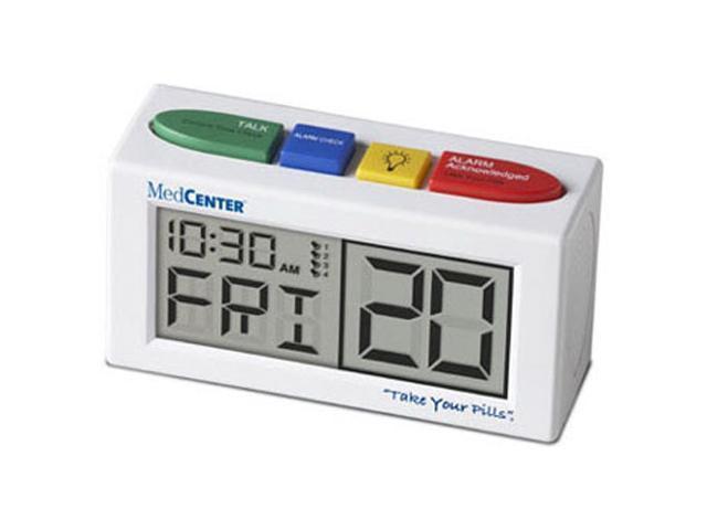 MedCenter Talking Alarm Clock & Medication Reminder (4 Reminders) (70942)
