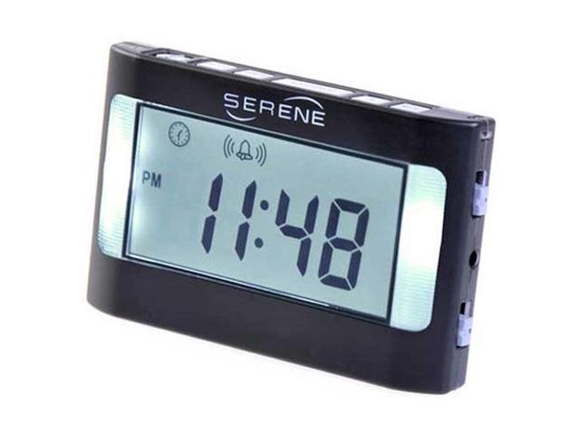 Serene Vibrating Travel Alarm Clock (VA3)